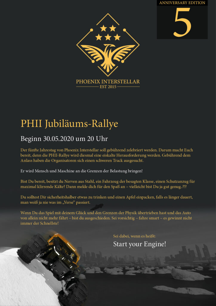 Jubiläums Rallye